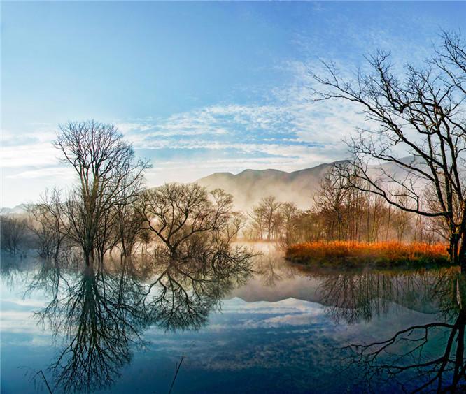神秘的纤夫文化裸体纤夫、神农架大九湖,3日摄影